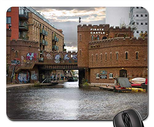 Mouse Pads - Pirates Graffiti Castle Camden Town Fortress