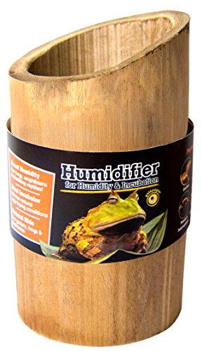 Galapagos 05340 Bamboo Humidifier, Natural, 6in Tall (4in D) by Galapagos