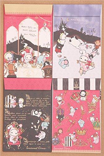 Set papel de cartas japonés animales Sentimental Circus rey ...