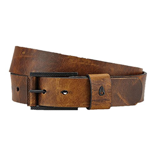 Nixon  Men's The Americana SE Slim Belt Black/Brown MD Americana Belt