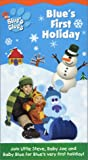 Blue's Clues: Blue's First Holiday [VHS] [Import]