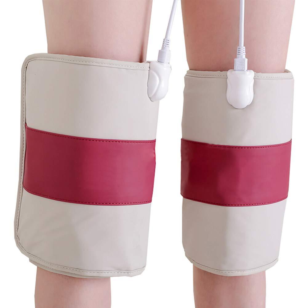 上等な 加熱電気膝パッド B07M99PDZ4、暖かい寒い脚物理療法膝マッサージ膝関節サポートブレース加熱ラップ B07M99PDZ4 Red, アクアブーケ:0f058f0a --- a0267596.xsph.ru