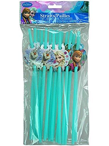 Disney Frozen disposable Straws straws