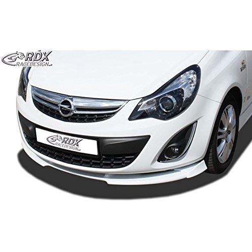 Front spoiler Vario-X Opel Corsa D Facelift 2010-2014 (PU) RDFAVX30414