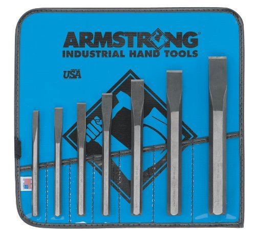 Armstrong 70-562 Cold Chisel Set, 7-Piece by Apex Tool Group by Apex Tool Group