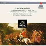 "Joseph Haydn: Symphonies No. 31 in D Major ""Hornsignal"" / No. 59 in A Major ""Fire"" / No. 73 in D Major ""The Hunt"" - Concentus Musicus Wien / Nikolaus Harnoncourt"
