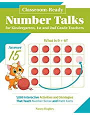Classroom-ready Number Talks For Kindergarten, First And Second Grade Teachers: 1000 Interactive Activities and Strategies that Teach Number Sense and Math Facts