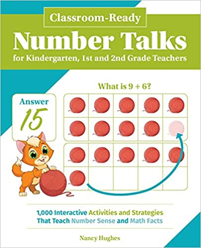 Classroom-Ready Number Talks for  Number Sense and Math Facts number talks books