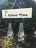 Island Time - Hand painted plaque and beer chimes