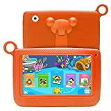 SODIAL(R) Kids Tablets Android 7 Inch 1280x800 IPS Display with Parental Control Software - for Learning Wifi Camera 3D Game HD Video Supported orange