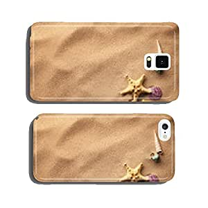 seashells on sand beach cell phone cover case iPhone6 Plus