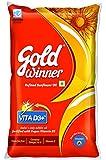 Gold Winner Refined Oil, Sunflower, 1L