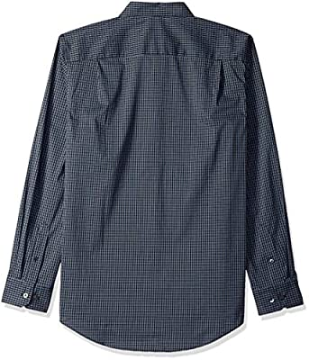 Van Heusen Men's Traveler Stretch Non Iron Long Sleeve Button Down Shirt