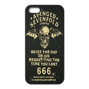 iPhone 5,5S Phone Case Black Avenged Sevenfold HUX328870