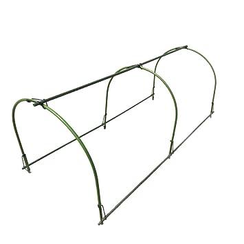 Mini Greenhouse Hoops, XINYI Hoop House Kit Long Steel with