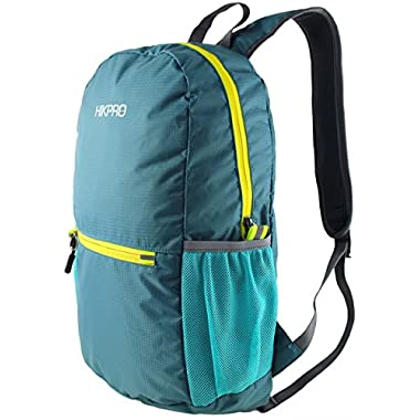 Ultralight Packable Travel Backpack Daypack + Most Durable Lightweight Hiking Backpacks for Men and Women / THE BEST Foldable Camping Biking School Air Travelling Carry on Backpacking + Ultra Light and Handy - 6.5 OZ Only