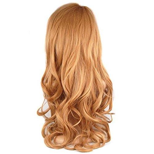 yahee damen perà cke 70cm langhaar gelockt lang haar wigs cosplay