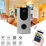 XCSOURCE 720P Wireless Smart Wifi Doorbell Wide Angle Camera Video Intercom Alarm PIR Motion Detection Anti-tamper Home Security Cloud Storage HS1004