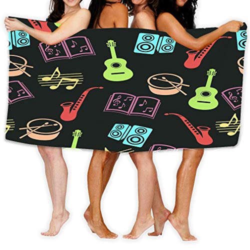 zexuandiy Large Beach Towel, Soft 31