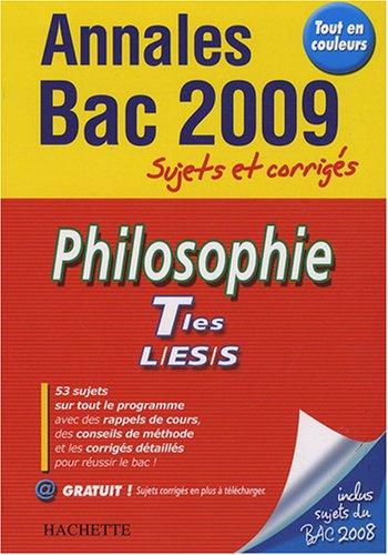 Philosophie Tles L/ES/S : Sujets et corrigés Annales Bac: Amazon.es: Lisa Klein, Yohann Durand: Libros en idiomas extranjeros