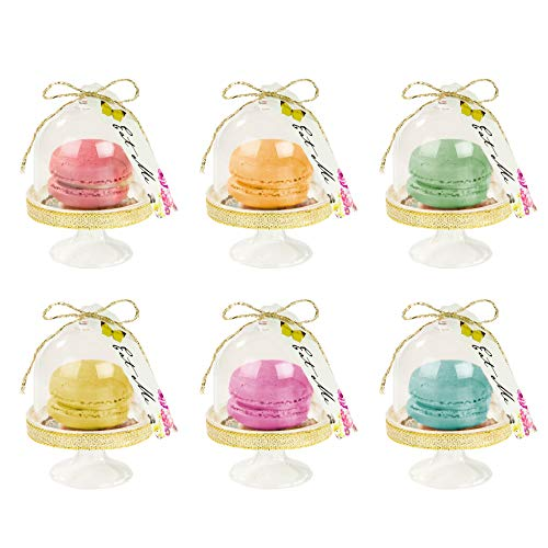 Talking Tables TSALICE Alice In Wonderland Favor Domes Mad Hatter Tea Party, Gold from Talking Tables