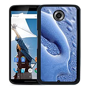 New Beautiful Custom Designed Cover Case For Google Nexus 6 With Water Macro Phone Case