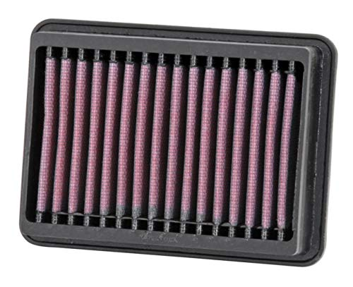 K&N Engine Air Filter: High Performance, Premium, Powersport Air Filter: 2006-2017 YAMAHA (XV1900, Midnight Star, XV19C, Raider, Bullet Cowl, Roadliner S, Stratoliner Deluxe, SCL, Midnight) YA-1906, Black