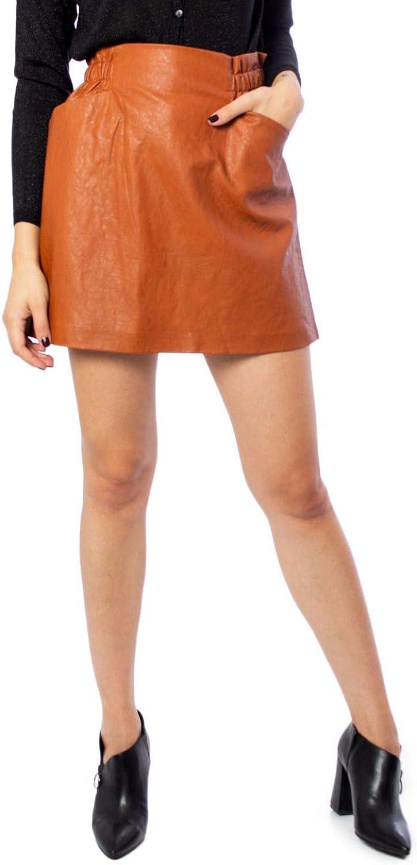 Only Luxury Fashion Mujer 15186134BROWN Marrón Falda | Otoño ...
