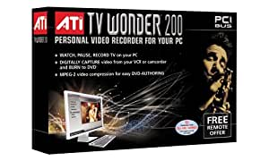 ATI TV Wonder 200 PCI Video Card w/PVR Capabilities