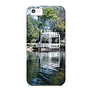 Premium A Park Lake In Sarmiento Argentina Back Covers Snap On Cases For Iphone 5c