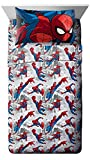 #8: Marvel Spiderman Burst Twin 3 Piece Sheet Set