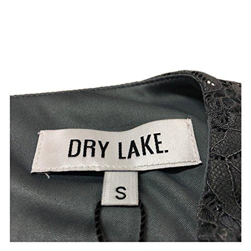 mod DRY LORNA manica senza donna LAKE pizzo camicia BLOUSE grigio H0qwPCHx