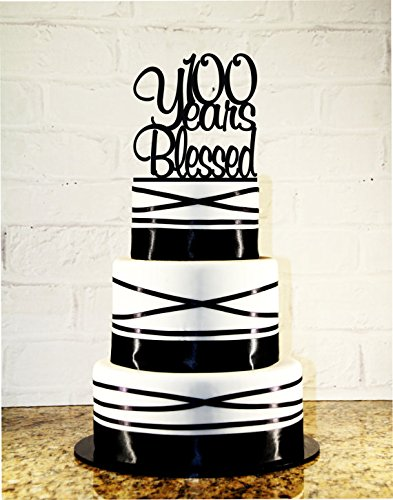 Amazon 100th Birthday Cake Topper