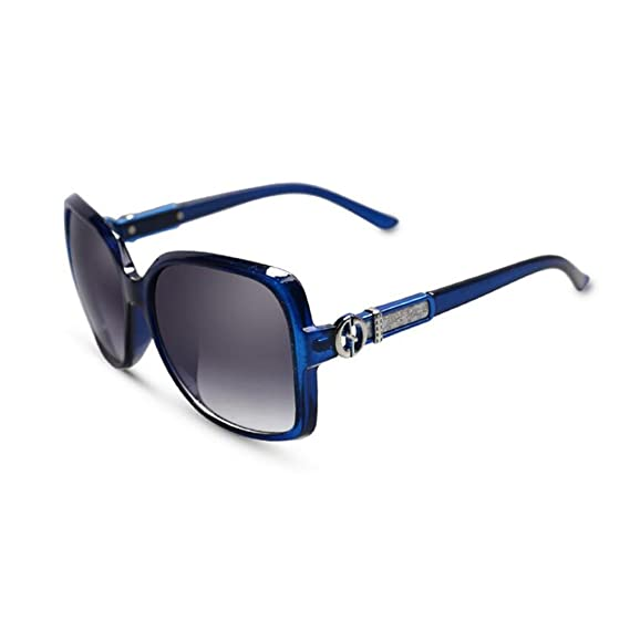 HONEY Elegant Lady Sunglasses - 2018 Neue UV-Schutzbrille ( Farbe : Amber purple ) ddE1Nb