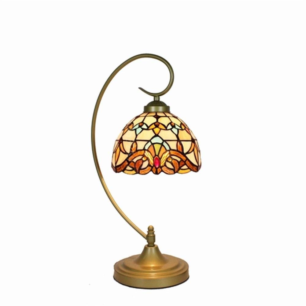 Soft Lighting Home Decoration Handmade Table Chandelier,Stained Stock Glass Chandelier with Mediterranean Style Handmade