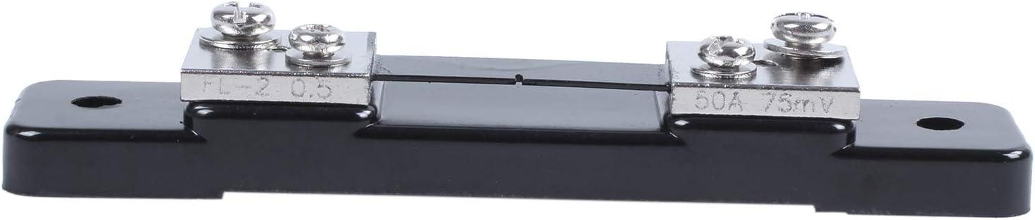 Nrpfell Amp Amp/èRem/èTre DC Inverseur Courant Shunt R/éSistance 50A 75mv