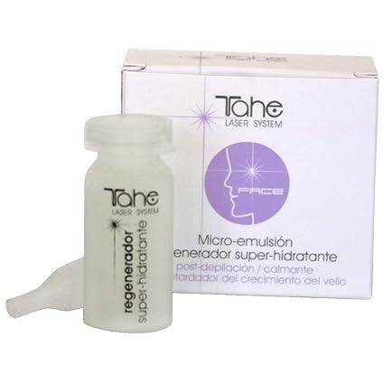 Tahe Laser System Regenerador Celular Facial Super Hidratante Retardador de Crecimiento del Vello, 10 ml