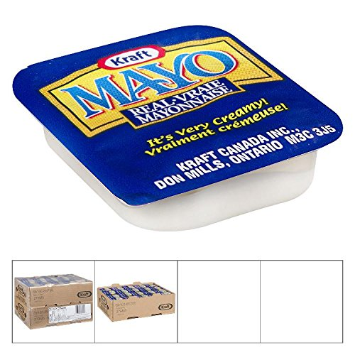 KRAFT Mayonnaise Portions, 200 count