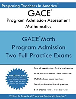 gace basic skills secrets study guide gace test review for the rh amazon com Math Formulas Math Formulas