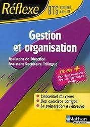 Gestion et organisation BTS Assistant de direction/Assistant secrétaire trilingue