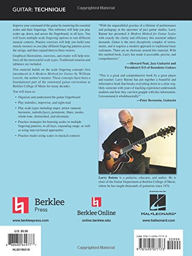 A Modern Method for Guitar Scales (Berklee Guide): Amazon.es ...