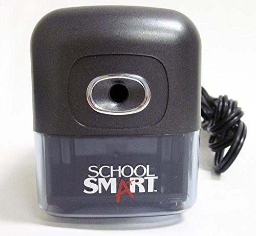 Heavy Duty Electric Pencil Sharpener with 12-Pack TeachingMart Pencils by TeachingMart (Image #3)