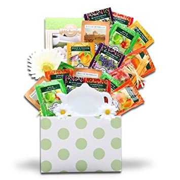 Image Unavailable. Image not available for. Color: Organic Stores Tazo Tea Gift Set