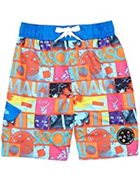 Boys Collage Swim Trunk Board Short Swimwear
