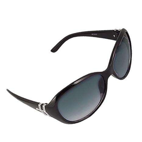 Como plastica nero Full Frame Ovale Occhiali da sole Lenti per la signora wmuxm yvxeBrpvR