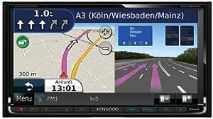 Kenwood DNX-9210BT - Sistema multimedia y de navegación (doble DIN, Bluetooth) [Importado de Reino Unido]