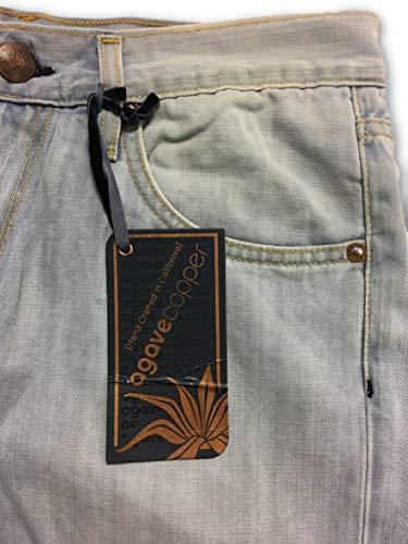 Algod Waterman Jeans Agave Rock Bird Copper o W32 Azul Tama Iwqq5zFTc