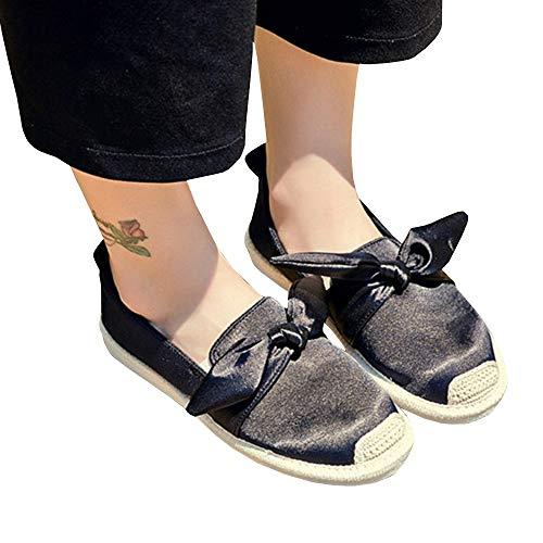 Cap Toe Bow - Womens Bow Tie Penny Loafers Espadrille Platform Slip on Sneakers Cap Toe Velvet Flats
