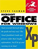 img - for Microsoft Office XP for Windows by Steve Sagman (2001-08-05) book / textbook / text book