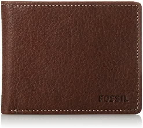 Fossil Men's Lincoln Bifold with Flip ID Wallet